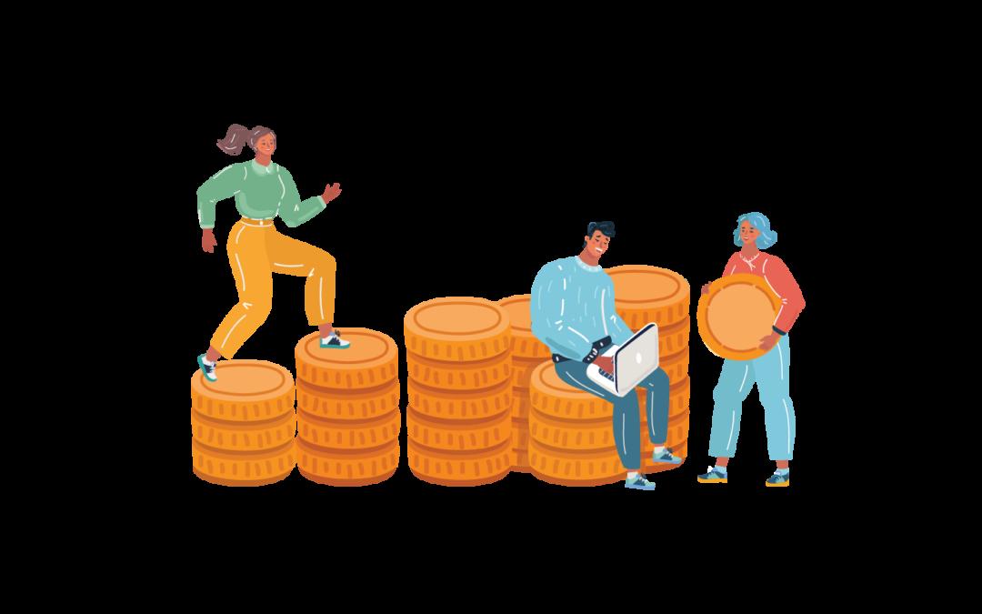 Gehalt und Finanzen